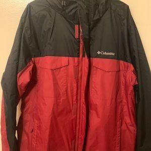 Columbia rainproof interchangeable jacket